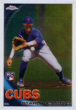 Starlin Castro Topps Chrome Rookie Card