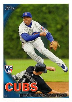 2010 Topps Update Starlin Castro Rookie Card