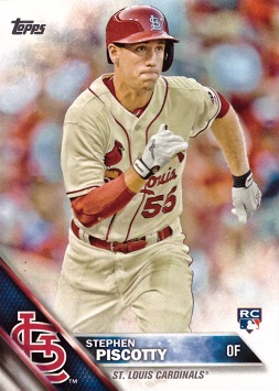 Stephen Piscotty Rookie Card