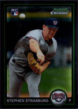 Stephen Strasburg Bowman Chrome Rookie Card