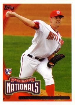 2010 Topps Baseball Stephen Strasburg Rookie Card