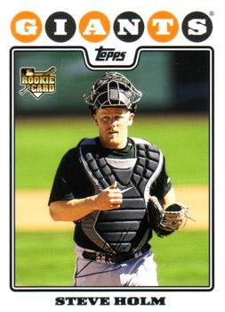 2008 Topps Steve Holm Rookie Card