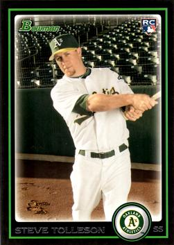 Steve Tolleson Rookie Card