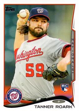 Tanner Roark Rookie Card