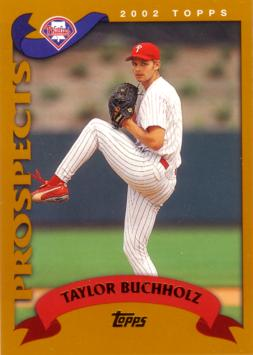 2002 Topps Taylor Buchholz Rookie Card
