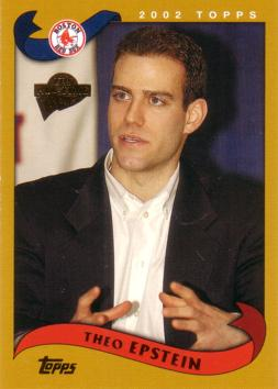 2005 Topps Theo Epstein Rookie Card