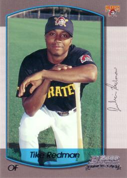 2000 Bowman Draft Picks Tike Redman Rookie Card