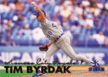 1999 Fleer Update Tim Byrdak Rookie Card