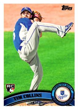 2011 Topps Tim Collins Rookie Card