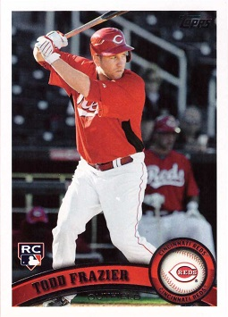 Todd Frazier Topps Rookie Card