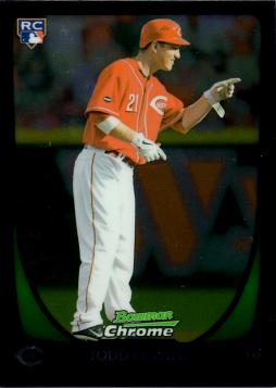 2011 Bowman Chrome Draft Picks Todd Frazier Rookie Card