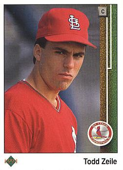 1989 Upper Deck Todd Zeile Rookie Card