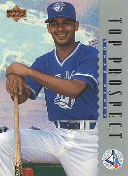1995 Upper Deck Tomas Perez Rookie Card
