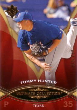 2009 Ultimate Collection Tommy Hunter Rookie Card