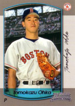 2000 Bowman Tomo Ohka Baseball Rookie Card