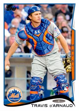 Travis D'Arnaud Rookie Card