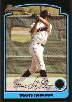 Travis Ishikawa Rookie Card
