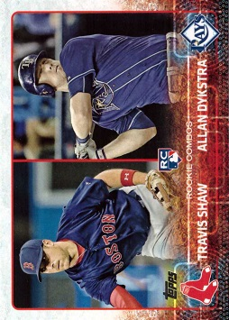 Travis Shaw Rookie Card