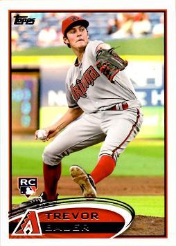 2012 Topps Update Trevor Bauer Rookie Card