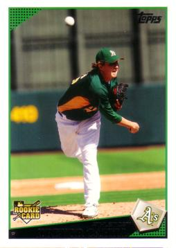 Trevor Cahill Rookie Card