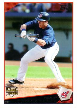 2009 Topps Trevor Crowe Rookie Card