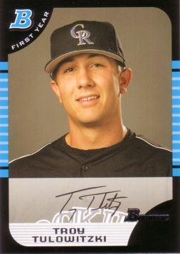Troy Tulowitzki Rookie Card