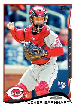 2014 Topps Update Baseball Tucker Barnhart Rookie Card