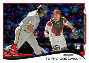 2014 Topps Update Baseball Tuffy Gosewisch Rookie Card