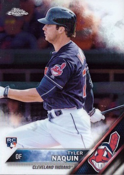 Tyler Naquin Rookie Card