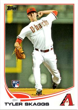 Tyler Skaggs Rookie Card