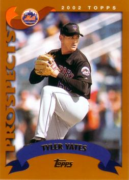 2002 Topps Traded Tyler Yates Rookie Card