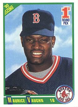 1990 Score Mo Vaughn Rookie Card
