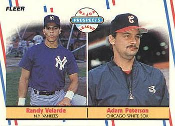 1988 Fleer Randy Velarde Rookie Card