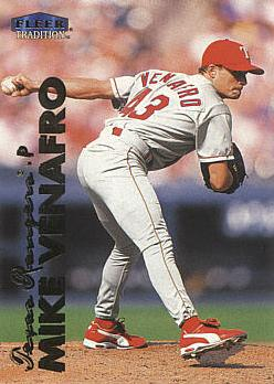 1999 Fleer Update Mike Venafro Rookie Card