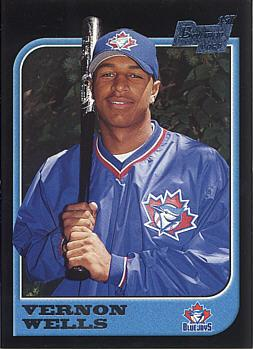 1997 Bowman Vernon Wells Rookie Card