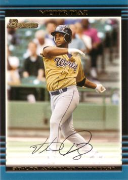 2002 Bowman Draft Victor Diaz Rookie Card
