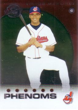 2001 Donruss Class of 2001 Victor Martinez Rookie Card