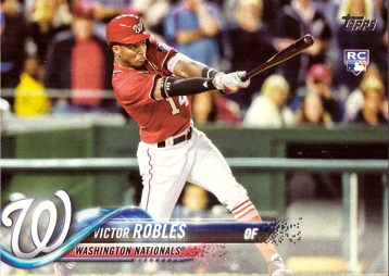 2018 Topps Baseball Victor Robles Rookie Card