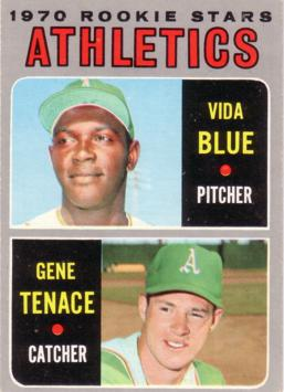 Vida Blue Rookie Card