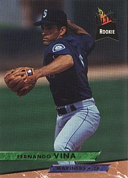 1993 Ultra Fernando Vina Rookie Card