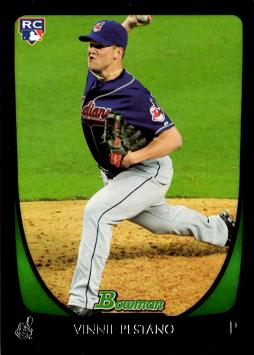 2011 Bowman Draft Picks Vinny Pestano Rookie Card