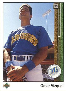 Omar Vizquel Rookie Card