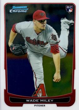 Wade Miley Bowman Chrome Rookie Card