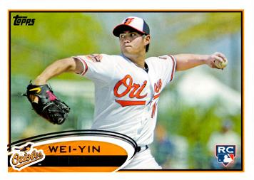 Wei-Yin Chen Rookie Card