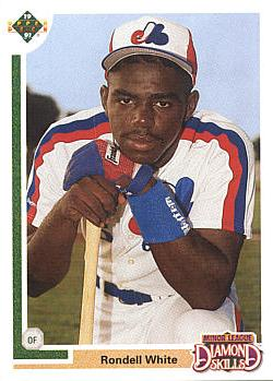 1991 Upper Deck Final Rondell White Rookie Card