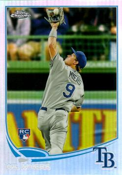 2013 Topps Chrome Refractor Baseball Wil Myers Rookie Card