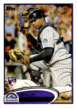 Wilin Rosario Rookie Card