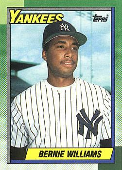 Bernie Williams Rookie Card