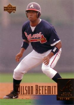 2001 Upper Deck Wilson Betemit Rookie Card