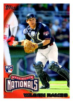 2010 Topps Update Wilson Ramos Rookie Card